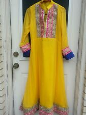 Indian Pakistani Women Chiffon  Anarkali Suits