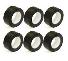 BRAND NEW   6 extra strong black cloth gaffa duct tape 50mm X 50M