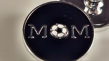 SOCCER MOM SNAP Button Charm 18mm Jewelry Interchangeable Fits Ginger Snaps