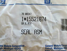 NOS FRONT AXLE SEAL GM 15521874 FITS VARIOUS 92-97 CHEVY GMC CAD TRUCKS