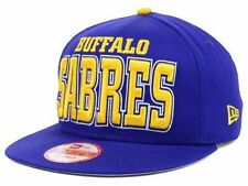 "Buffalo Sabres NHL New Era 9Fifty ""Solid"" Snapback Hat New"