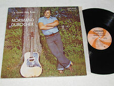 NORMAND DUROCHER Le Gamin Des Rues LP 1973 London Records French Country Quebec