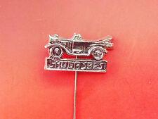 Classic car Skoda 1912 - 1921 - 1925 - 1938 auto automobilia transportation pin