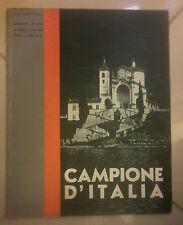 RIVISTA CAMPIONE D'ITALIA 1934 campione como cernobbio cantù