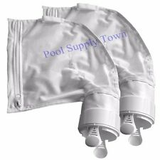 2 PACK Polaris 280, 480 Pool Cleaner All Purpose Zippered Bag K13 with Clip
