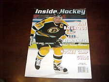 1997 Inside Hockey Monthly Magazine Ray Bourque Boston Bruins Cover