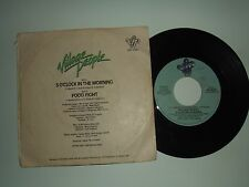 "Village People ‎– 5 O'Clock In The Morning –Disco Vinile 45 Giri 7""  Italia 1981"