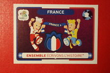 Panini EURO 2012 N. 44 FRANCE NEW With BLACK BACK TOPMINT!!