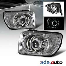 2003-2008 Honda Element {CCFL Halo} Projector Chrome Headlights Pair