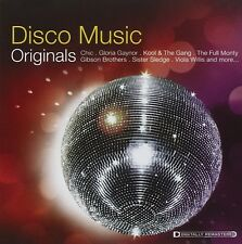 DISCO MUSIC ORIGINALS  CD NEU TINA CHARLES/SISTER SLEDGE/GIBSON BROTHERS/+