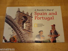 National Geographic Society Map 1998 Traveler's Map  Spain & Portugal