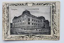 17160 AK Tsingtou Gouvernementsgebäude China 1908 gelaufen PC