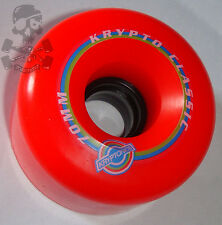 KRYPTONICS Classic K - Skateboard Wheels 70mm / 78a - Red Kryptonic / Kryptos