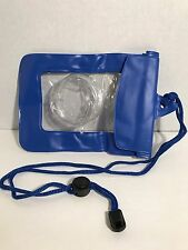 Waterproof GoPro ,Camera ,Cell Phone ID , Neck Holder PouchSafety Lanyard NEW