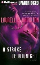 BOOK/AUDIOBOOK Cassette Laurell Hamilton STROKE OF MIDNIGHT