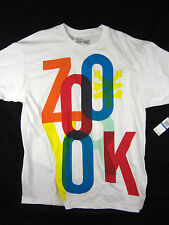 Zoo York Zilla Circus NYC short sleeve t shirt men's white size XL