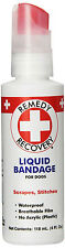 CARD REMEDY RECOVERY HEALTH PET LIQUID BANDAGE SPRAY 4 OZ DOG CAT FERRET RABBIT