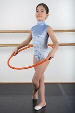 Justaucorps de GRS, gymnastique ou de danse INTERMEZZO 3453, Turquois en 4/6 ans