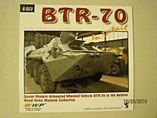 BTR-70 in Detail - G023 Photo Manual for Modelers - Wings & Wheels Publications