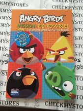 Angry Birds Mission Pig-possible GiantColoring and Activity Books for Kids 96pg