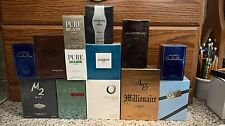 Ultimate Lot of 12 Eau De Toilette Men's Spray Cologne Fragrance Sealed