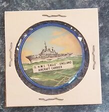Made In Canada Potato Chips Fighting War Ships # 15 H.M.S. Eagle Carrier