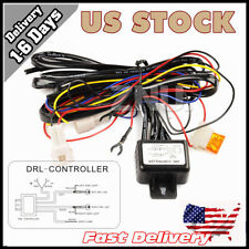 Flash LED Daytime Running Light DRL Relay Harness Automatic On/Off Control SMD