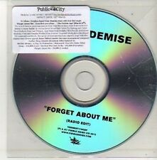 (CU589) Your Demise, Forget About Me - 2012 DJ CD