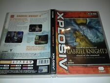 GABRIEL KNIGHT 3 BLOOD OF THE SACRED, BLOOD OF THE DAMNED - PC GAME