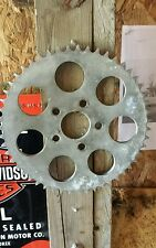 Harley Davidson sportster rear sprocket conversion Evo or iron head 51 tooth