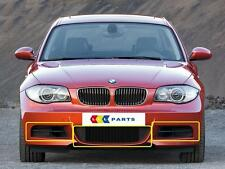 BMW NEW GENUINE 1 SERIES E82 E88 M SPORT FRONT BUMPER GRILLS SET OF THREE