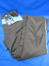 Billabong Women's Snowboard Pants Brown Turquoise Large MSRP $140
