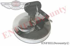 LOCKABLE FUEL TANK CAP CHROME PLATED WITH 2 KEYS MASSEY FERGUSON TRACTORS