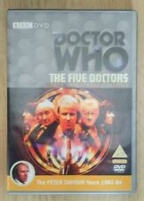 Doctor who the five doctors 2 disc dvd 25th anniversary edition bbc - disp.24hrs