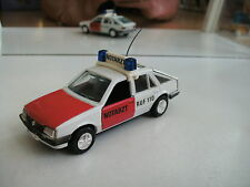 Gama Opel Ascona Notarzt in white/Red on 1:43