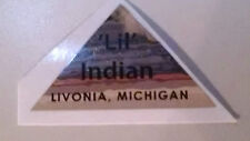 Vintage Minibike Lil Indian Front Neck Decal