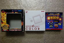 Console Neo Geo Pocket Color Crystal White Pachislot Aruze Limited Package Japan