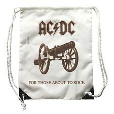 sac à dos AC/DC, Sac à dos Musique, logo For ces sur the Rock avec effet vintage