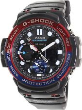 *NEW* CASIO MENS G SHOCK GULFMASTER RED BLUE WATCH TWIN SENSOR GN1000-1A RRP£249
