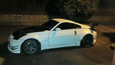 Nissan Fairlady 350Z Z33 Fuza Style Front and Rear Wide Fenders
