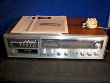 Vintage FISHER MC 4010 AM/FM 8 track stereo receiver AUDIO COMPONENT + manuals