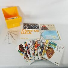 National Geographic Close Up USA Box Of Maps Book 1988