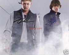 """Jensen Ackles & Jared Padalecki TV Supernatural 8x10"""" reprint signed photo RP"""