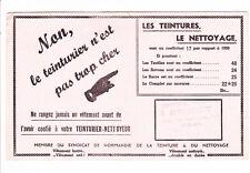 buvard teinturier nettoyeur BRUNET à Rouen