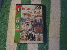 Rome and Vatican (DVD) in 5 languages, secrets & romance through insider's view.