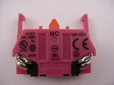 Idec A600  858T   HW-C01 Auxiliary Contact Normally Closed NEW Ships Same Day