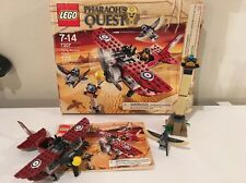 Lego Set 7307 Pharoah's Quest flying Mummy Attack 98% complete w/instructions