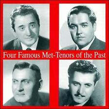 Four Famous Met Tenors of the Past New CD