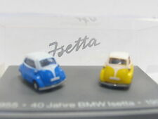 BMW Mobile Tradition 40 Jahre BMW Isetta 2er Set 1955 - 1995 Techno OVP (L6794)