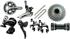 2015 Shimano 9 Piece Dura-Ace 9000 Group Set 11 Speed NEW 34/50 39/53 36/52 11s